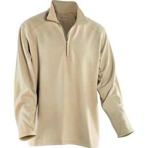 DRIFIRE Mock-Zip Fleece in Desert Sand