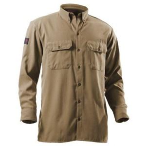 DRIFIRE FR Button Front Work Shirt in Khaki
