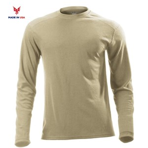 FR Midweight Long Sleeve Tee in Desert Sand
