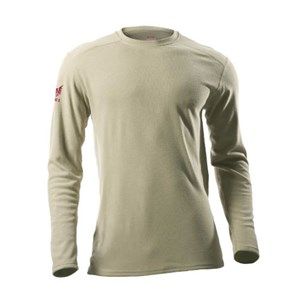 Drifire Heavyweight FR Long Sleeve Tee in Desert Sand