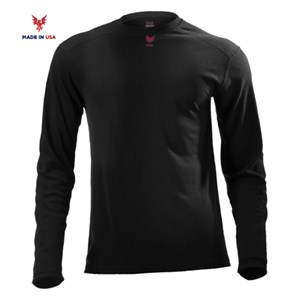 FR Lightweight Long Sleeve Tee in Black