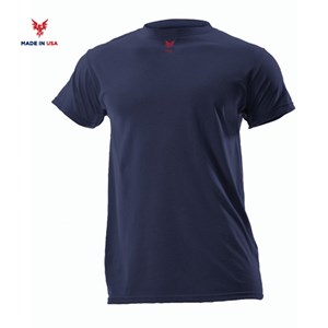 FR Lightweight Short Sleeve Tee in Navy