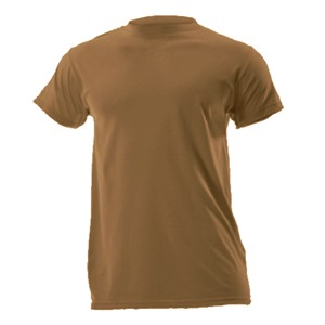 FR Silkweight Short Sleeve Tee in Coyote Brown