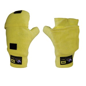Dragonwear Flip-Top Mittens in Hi-Viz
