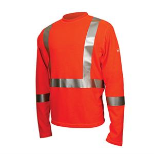 Dragonwear Power Dry Midweight Top in Orange