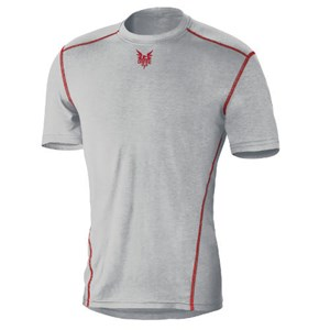 Prime Short Sleeve FR Base Layer in Gray