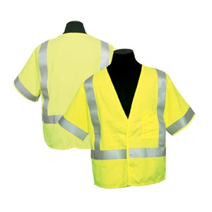 FR ARC Series 1 Hi-Vis Vest, Class 3 in Lime