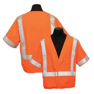 FR ARC Series 1 Hi-Vis Vest, Class 3 in Orange