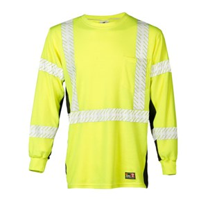 Black Series FR Hi-Vis Long Sleeve Shirt