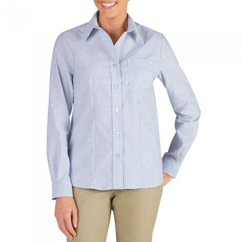 bd31e4d6 Women's Long Sleeve Stretch Oxford Shirt - FL254
