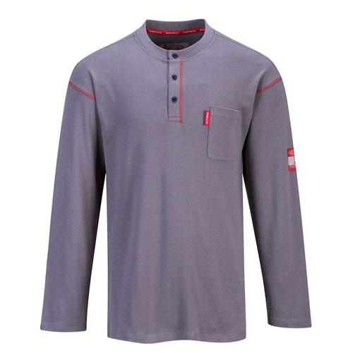 8604d1637019 Portwest Bizflame FR Henley Shirt - FR02
