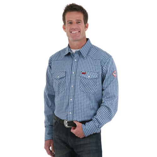 Long Sleeve Plaid Western Shirt