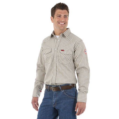 Men's Western FR Work Shirt