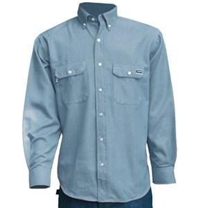 TECGEN Select 5.5 oz. Dress Uniform Shirt in Light Blue