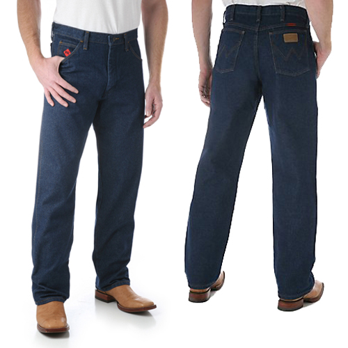 5c09df30afab Relaxed Fit Style Wrangler Flame Resistant Jeans