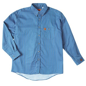 Lightweight FR Stripe Work Shirt