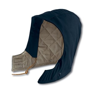 Flame Resistant Duck Hood / Quilt Lined - Navy