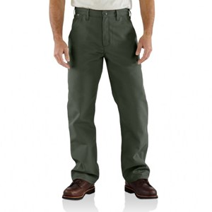 Carhartt FR Work Dungaree in Moss