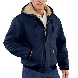 FR Duck Active Jacket with Quilt Lining - Navy