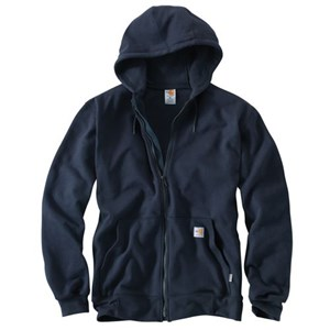 Flame Resistant Heavyweight Zip Front Sweatshirt