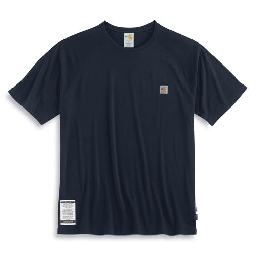Carhartt flame resistant short sleeve work dry t shirt for Flame resistant work shirts