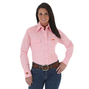 Women's FR Western Work Shirt