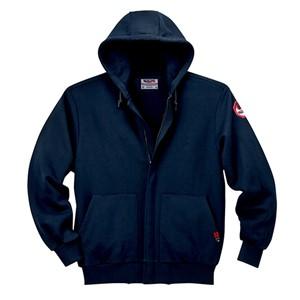 FR Hooded Sweatshirt with Zip-Front