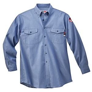 FR Work Shirt in 5.5 oz 100% Cotton Chambray