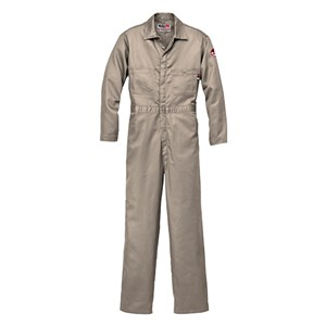 Contractor Coverall 2.0 in 100% FR Cotton in Khaki