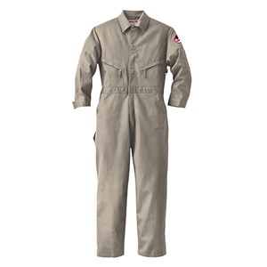 Industrial Coverall in 7.0 oz Banwear by Walls FR in Khaki