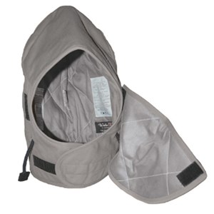 Flame Resistant Insulated Hood in Gray