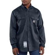 Flame Resistant Work-Dry Lightweight Twill Shirt