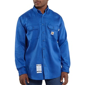Work Shirt in Royal Blue