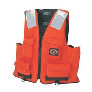 First Mate Orange Life Vest