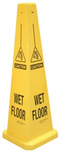 Floor Cone Caution Wet Floor