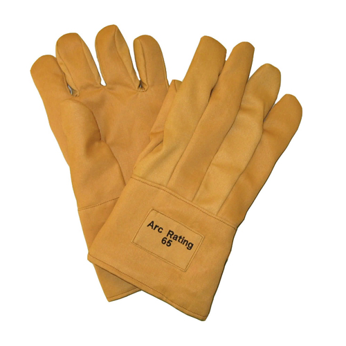 Voltage Rated Gloves : Cal arcguard safety gloves inch