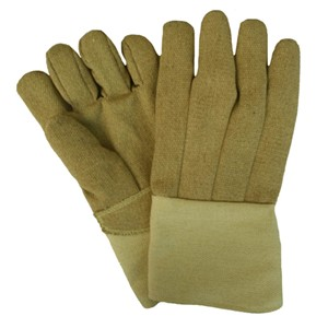 "14"" Straight Thumb 22 oz. PBI/Kevlar Gloves with Thermobest Cuff"