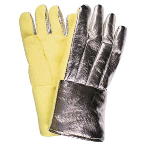 "14"" Straight Thumb Thermobest Glove with Aluminized Thermobest Back"