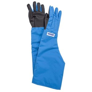 Shoulder Cryogenic Gloves w/ SaferGrip Palm and 100% Waterproof Liner