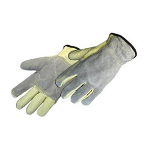 Hybrid Leather Drivers Glove