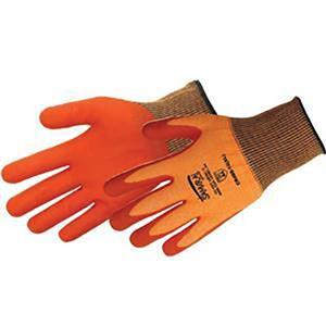18 Gauge Touch Screen Glove Hi-Vis Orange