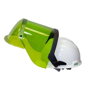 12 cal ArcGuard Faceshield with Hard Hat
