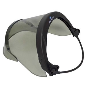 12 Cal PureView Faceshield with Full Brim Universal Adapter