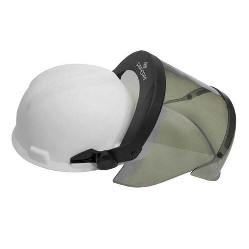 12 Cal PureView Faceshield with Hard Hat