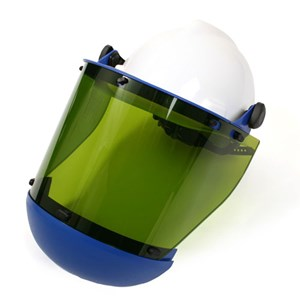20 cal/cm² Faceshield with Slotted Hard Hat & Chin Guard