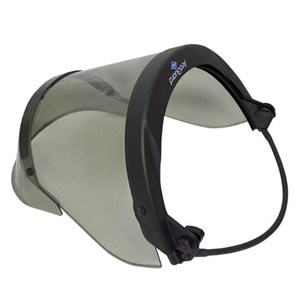 20 Cal PureView Faceshield with Full Brim Universal Adapter