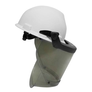 20 Cal PureView Faceshield with Hard Hat