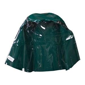 Green PVC Hood