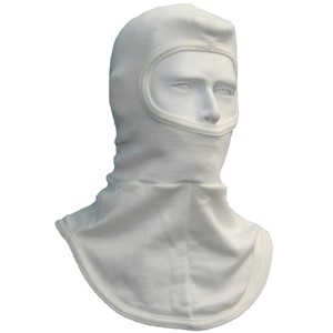 Double Layer Nomex Face with Single Layer Bib and Half-Face Opening