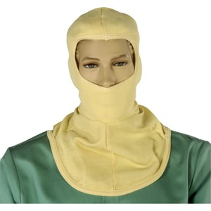 Double Layer Kevlar Knit Hood with Single Layer Bib